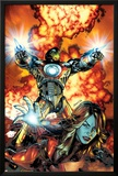 Ultimate Comics Armor Wars No.2 Cover: Iron Man, Hammer and Justine Posters by Brandon Peterson