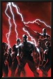 Secret Invasion No.1 Cover: Captain America Poster by Gabriele DellOtto