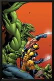Timestorm 2009/2099 No.3 Cover: Wolverine Prints by Tom Raney