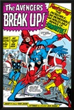Avengers Classic No.10 Group: Captain America, Iron Man and Giant Man Photo by Don Heck