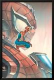Mega Morphs No.3 Cover: Spider-Man Posters by Lou Kang