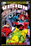 Vision And The Scarlet Witch No.3 Cover: Grim Reaper, Wonder Man, Vision and Scarlet Witch Posters by Rick Leonardi