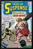 Tales Of Suspense: Iron Man No.42 Cover: Iron Man and Gargantus Poster by Jack Kirby