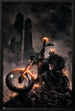 Ghost Rider No.6 Cover: Ghost Rider Print by Clayton Crain