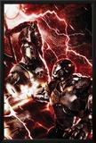 War Machine No.3 Cover: War Machine and Ares Posters by Francesco Mattina
