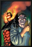Defenders No.4 Cover: Dr. Strange and Dormammu Prints by Kevin Maguire