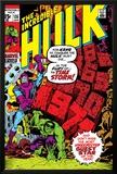 Incredible Hulk No.135 Cover: Hulk and Kang Lifting Prints by Herb Trimpe