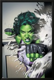 She-Hulk No.5 Cover: She-Hulk Prints by Adi Granov