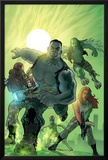 World War Hulk: Gamma Corps No.1 Cover: Griffin, Prodigy, Mess, Mr. Gideon and Grey Posters by Stephane Roux