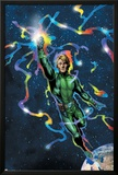 Doctor Spectrum 6 Cover: Dr. Spectrum Charging Poster by Travel Foreman