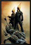 Ghost Riders: Heavens On Fire No.1 Cover: Ghost Rider Poster by Jae Lee