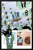 She-Hulk No.3 Cover: She-Hulk Posters by Juan Bobillo