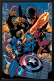 Marvel Knights Spider-Man No.11 Group: Captain America Posters by Terry Dodson