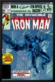 The Invinvible Iron Man No.152 Cover: Iron Man Poster by Bob Layton