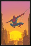 Spectacular Spider-Man No.27 Cover: Spider-Man Swinging Photo by Mark Buckingham