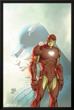 Fallen Son: The Death Of Captain AmericaNo.5 Cover: Captain America and Iron Man Poster by Michael Turner