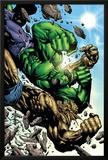 Hulk: Destruction No.4 Cover: Abomination and Hulk Poster by Jim Muniz