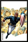 Young Avengers Presents No.1 Cover: Patriot Prints by Jim Cheung