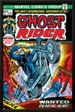 Ghost Rider No.1 Cover: Ghost Rider Posters by Tom Sutton