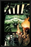 Incredible Hulk No.84 Cover: Hulk, Pyro and Vanisher Posters by Andy Brase