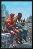 Marvel Team-Up No.9 Cover: Daredevil, Cage and Luke Posters by Scott Kolins