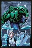 Hulk Team-Up No.1 Group: Hulk, Angel and Iceman Posters by Sanford Greene