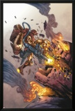 Iron Man: House Of M No.2 Cover: Iron Man and Sentinel Posters by Pat Lee