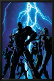Dark Avengers No.1 Cover: Iron Patriot and Ms. Marvel Posters by Mike Deodato
