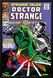Strange Tales No.166 Cover: Dr. Strange and Voltorg Posters by George Tuska