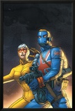 The New Invaders No.5 Cover: Union Jack and Spitfire Prints by Scott Kolins
