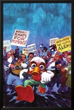 Howard The Duck No.4 Cover: Howard The Duck Posters by Juan Bobillo