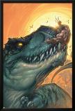 Ultimates 3 No.3 Cover: Wolverine Prints by Joe Madureira