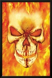 Ghost Rider No.15 Headshot: Ghost Rider Photo by Mark Texeira