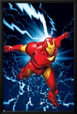 Marvel Two-In-One No.9 Marvel Adventures Iron Man Cover: Iron Man Prints by Michael Golden