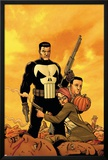 Punisher: War Zone No.6 Cover: Punisher Posters by Steve Dillon