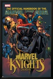 The Official Handbook Of The Marvel Universe: Marvel Knights 2005 Cover: Black Panther Prints by Pat Lee