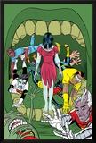 X-Statix No.18 Cover: Deadgirl, Mr. Sensitive, Venus de Milo and X-Statix Photo by Michael Allred