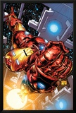 The Invincible Iron Man No.1 Cover: Iron Man Prints by Joe Quesada