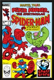Marvel Tails: Spider-Ham No.1 Cover: Spider-Ham, Captain Americat and Hulkbunny Flying Photo by Mark Armstrong