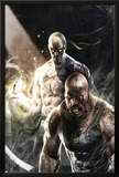 Thunderbolts No.137 Cover: Iron Fist, Cage and Luke Photo