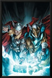 Secret Invasion: Thor No.3 Cover: Thor and Beta-Ray Bill Posters by Doug Braithwaite