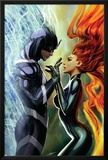 Realm of Kings Inhumans No.3 Cover: Medusa and Black Bolt Posters by Stjepan Sejic