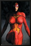 Spider-Woman No.1 Cover: Spider Woman Posters by Alex Maleev
