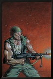 Fury Peachmaker No.2 Cover: Nick Fury Prints by Mark Texeira