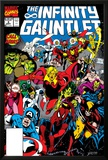 Infinity Gauntlet No.3 Cover: Adam Warlock Posters by George Perez