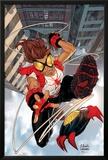 Amazing Fantasy No.1 Cover: Arana Print by Tom Grummett