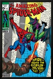 The Amazing Spider-Man No.97 Cover: Spider-Man and Green Goblin Prints by Gil Kane