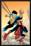 Marvel Team-Up 14 Cover: Spider-Man and Invincible Photo by Cory Walker