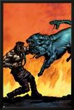 Hercules No.5 Cover: Hercules Print by Mark Texeira