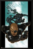 Ultimate Comics Ultimates No.4: Nick Fury Falling through the Sky Posters by Esad Ribic